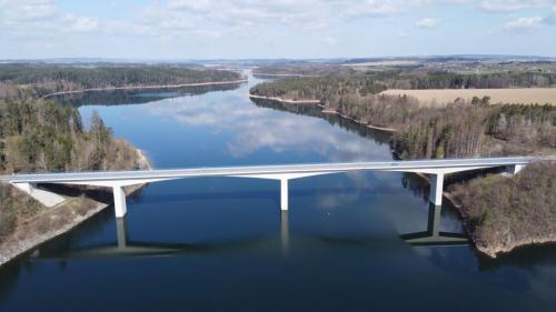 Most směrem na Ledeč nad Sázavou